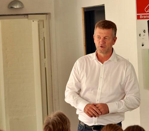 Jan Larsen holdte et spændende foredrag!