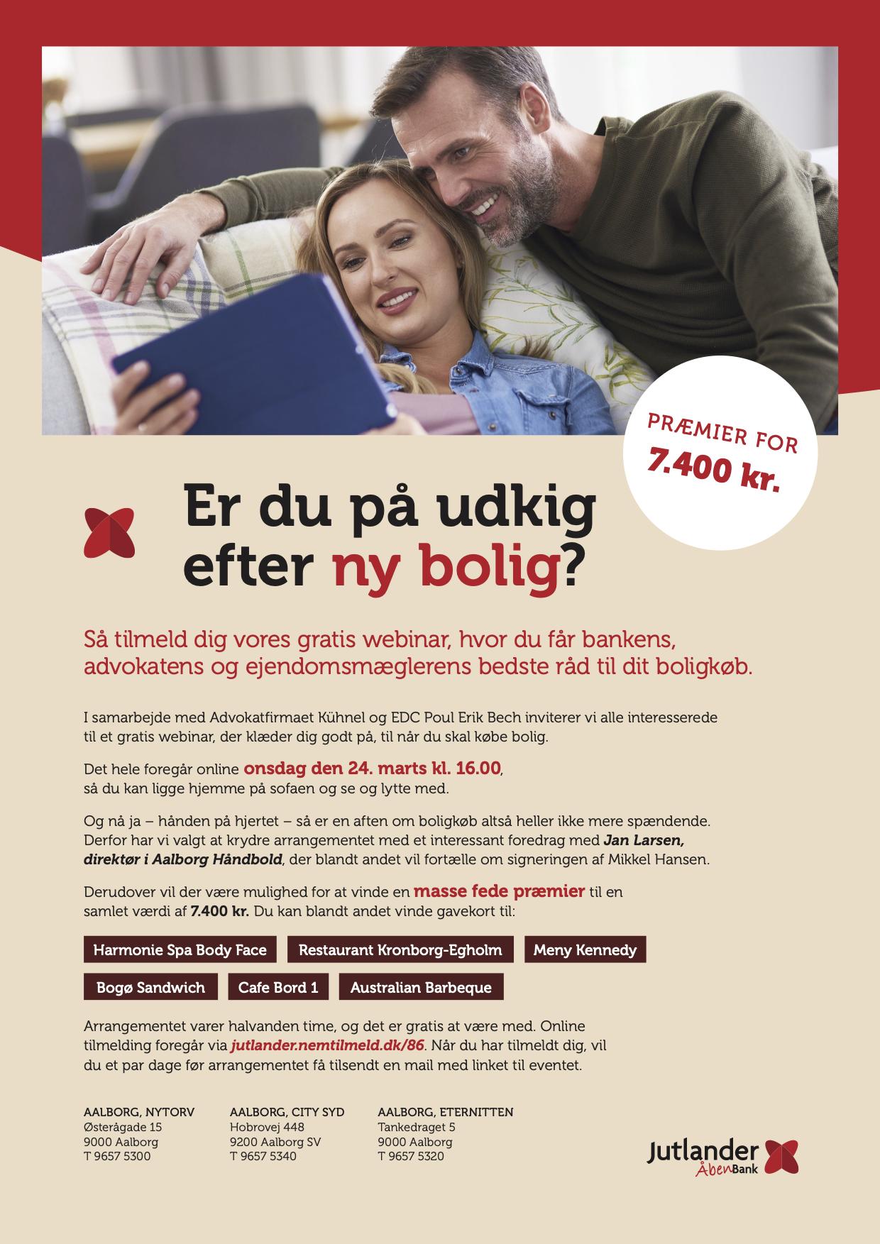 Jutlander Bank Indbyder Til Webinar